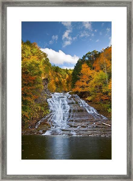 Buttermilk Falls 2 Framed Print