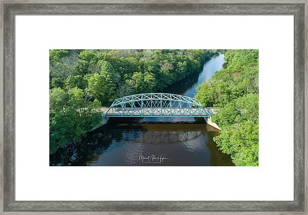 Butts Bridge Summertime Framed Print