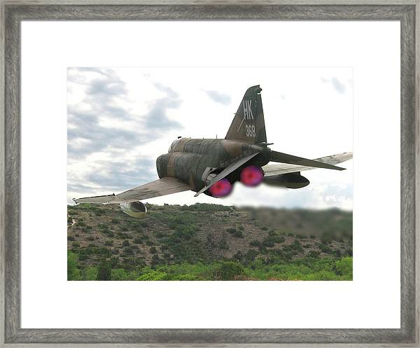 Buzz The Tower Framed Print