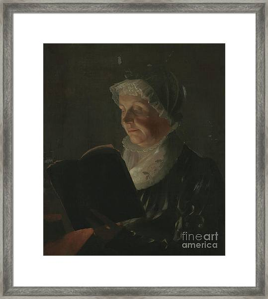 By Candlelight Framed Print