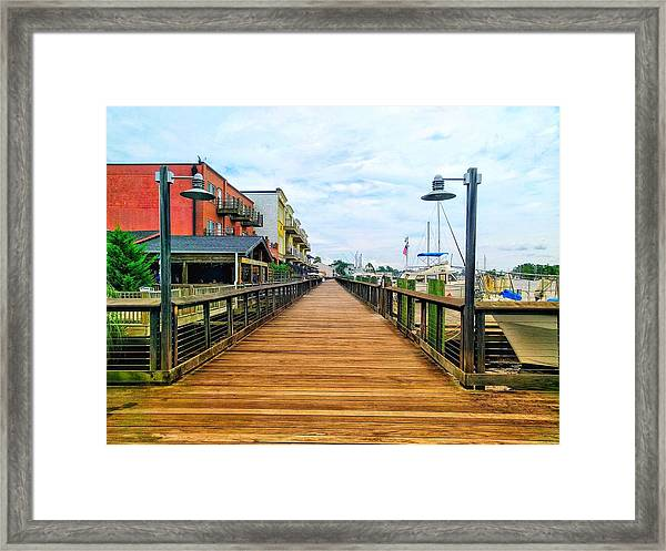 By George Framed Print