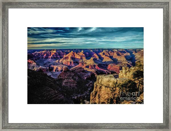 By The Dawns Early Light Framed Print