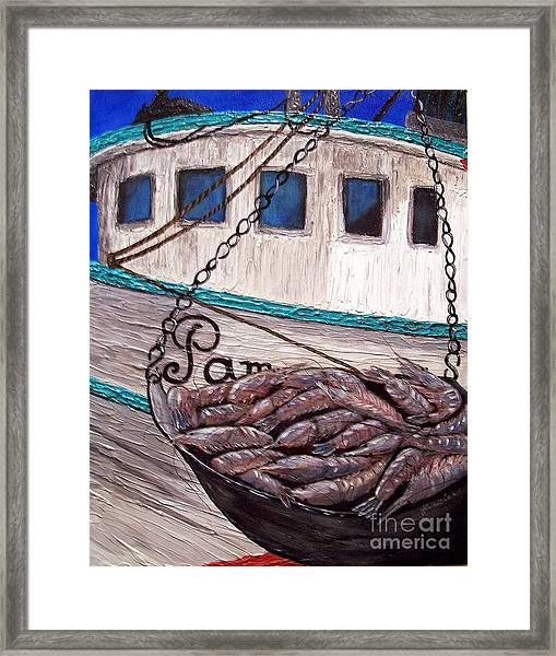 By The Pound Framed Print by JoAnn Wheeler