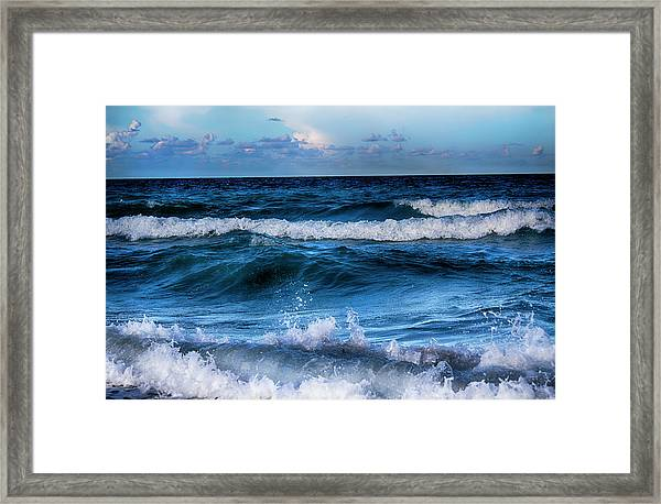 By The Sea Series 03 Framed Print