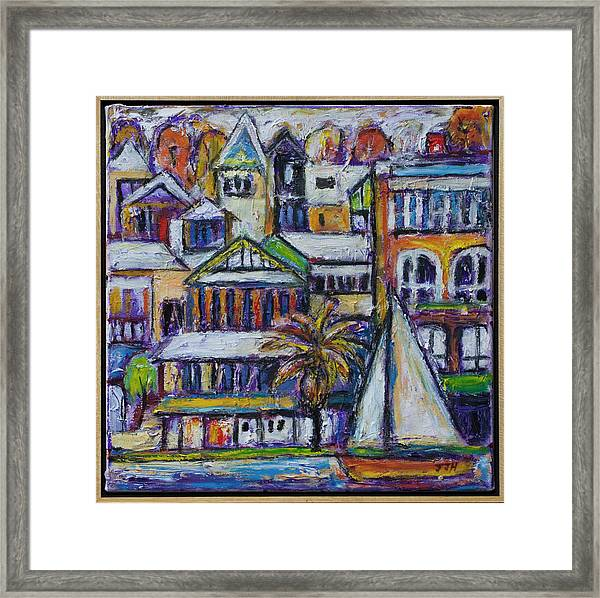 By The Water - Freo Framed Print