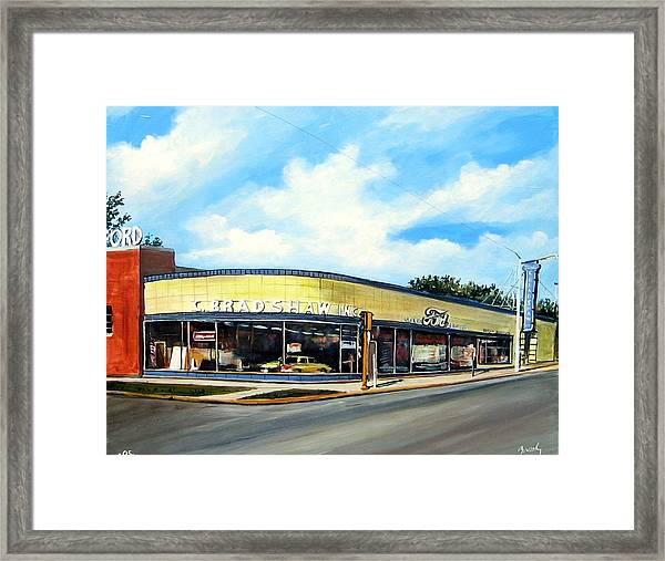 C Bradshaw Framed Print