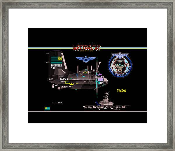 C1-a Trader Framed Print