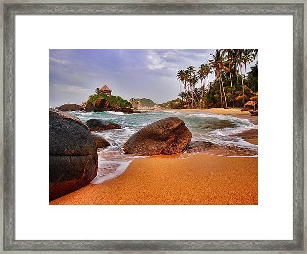 Framed Print featuring the photograph Cabo San Juan by Skip Hunt