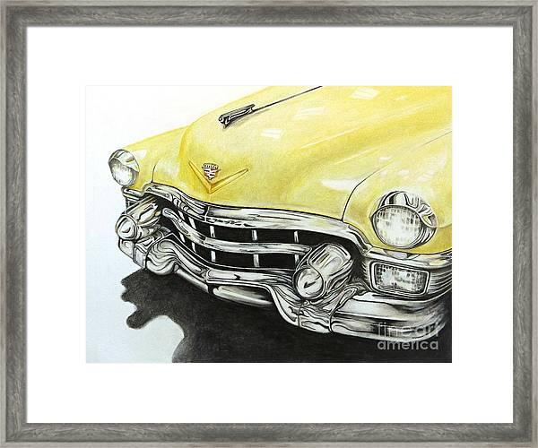 Caddy Framed Print