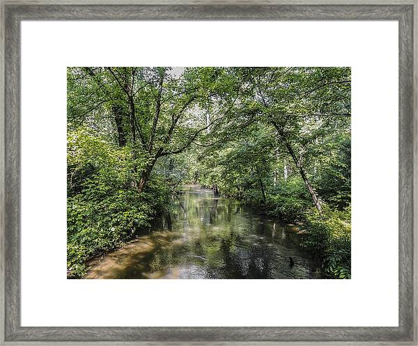 Cades Creek Framed Print