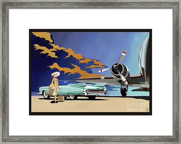 Cadillac Eldorado 1959 Framed Print