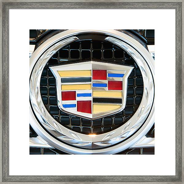 Cadillac Quality Framed Print