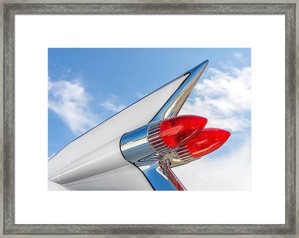 1959 Cadillac Tailfin Framed Print