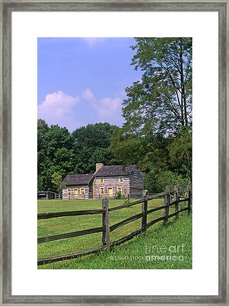 1e140 Caesar Creek Pioneer Village Photo Framed Print