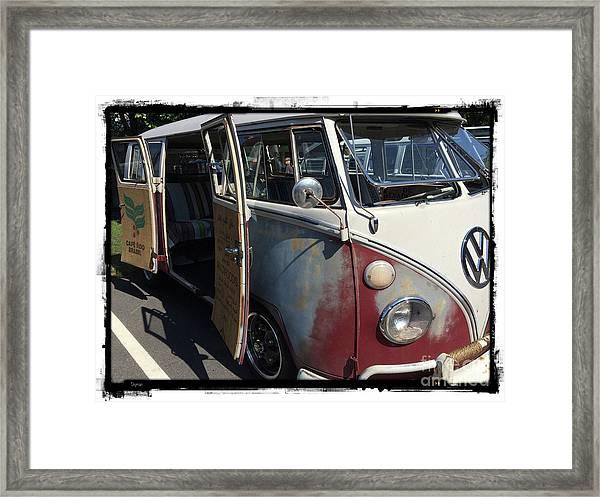 Cafe Brasil  Framed Print by Steven Digman