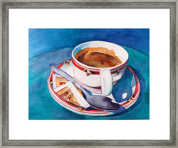 Cafe Con Leche Framed Print