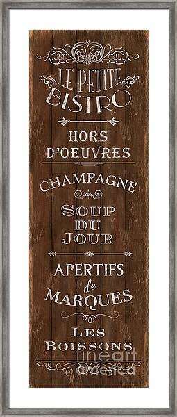 Cafe De Paris 2 Framed Print