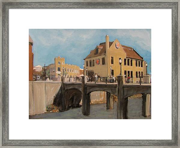 Cafe Hollander 1 Framed Print