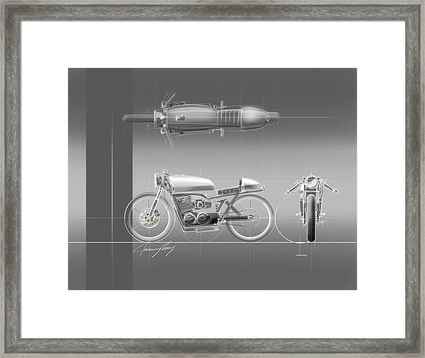 Cafe Racer Framed Print