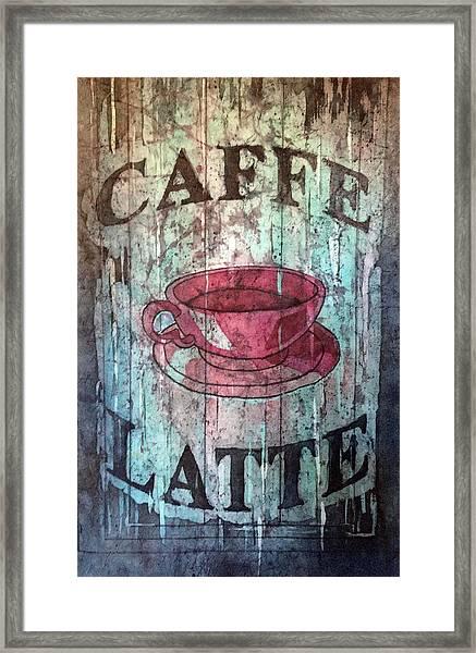 Caffe Latte Framed Print