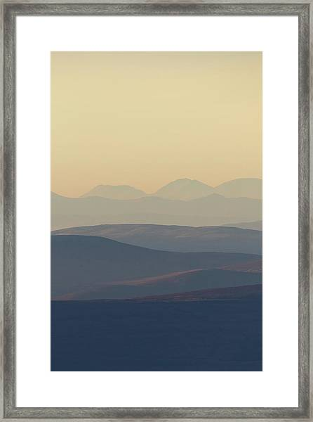 Cairngorms Sunset Framed Print