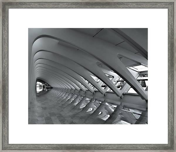 Calatrava 3 Framed Print