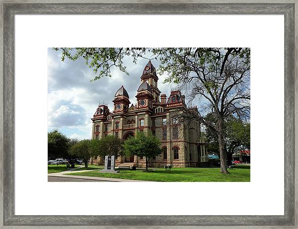Caldwell County Courthouse Framed Print