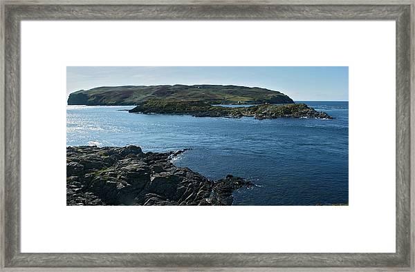 Calf Sound Framed Print by Steve Watson