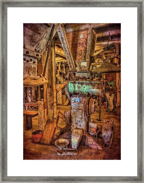 California Pellet Mill Co Framed Print