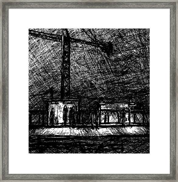 California 2800w Framed Print