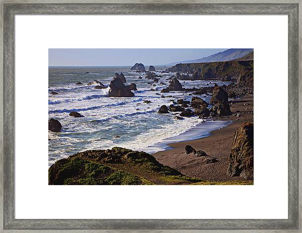 California Coast Sonoma Framed Print