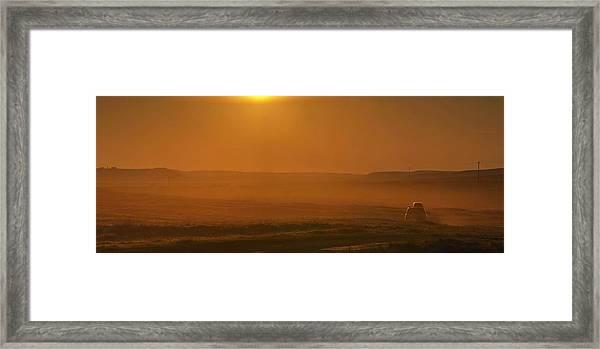 California Dream Framed Print