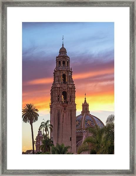 California Sunset #2 Framed Print