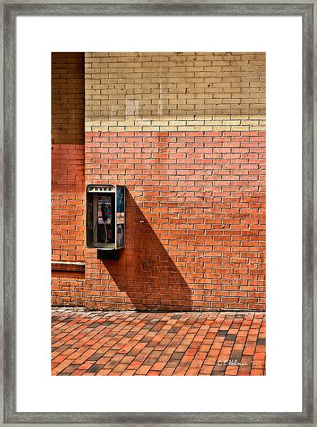 Call Me Framed Print