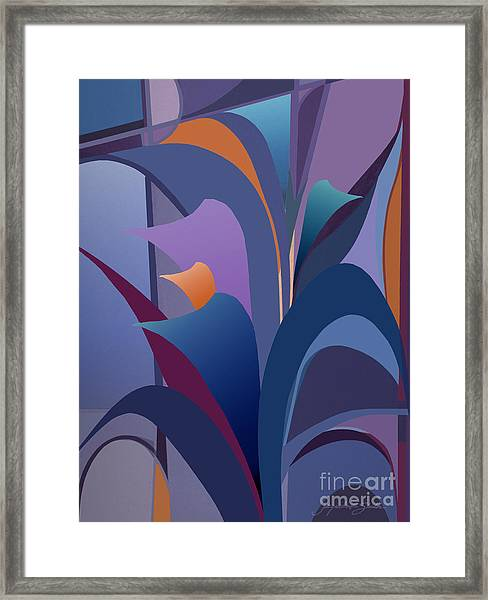 Calla Collection Framed Print