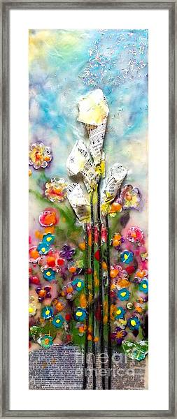 Calla Lily Dance Framed Print
