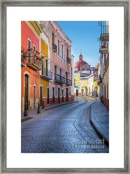 Calle Bonita Framed Print