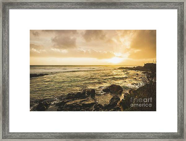 Calm After The Storm Framed Print