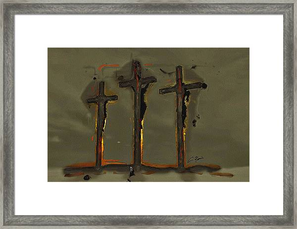 Calvary Framed Print