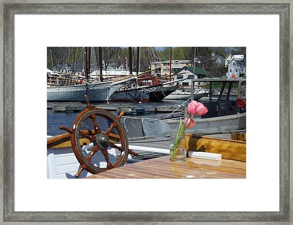 Camden Romance Framed Print