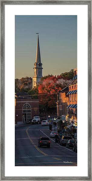 Camden Steeple Framed Print