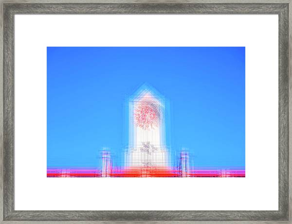 Can You Tell The Time? Framed Print
