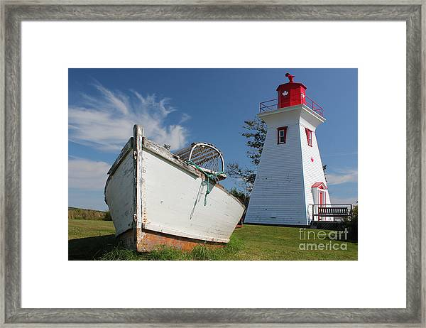 Canadian Maritimes Lighthouse Framed Print
