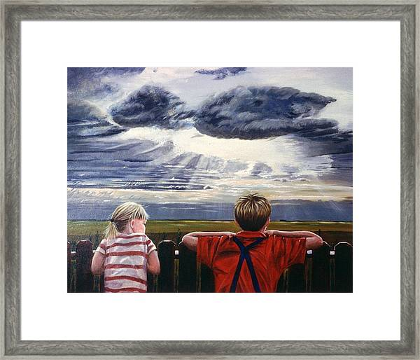 Canadian Prairies Framed Print