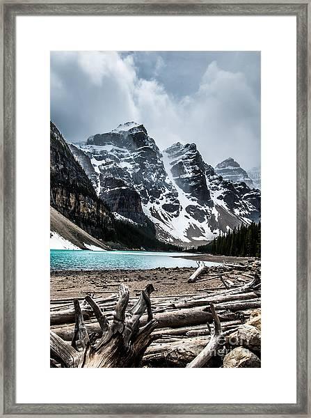 Canadian Rockies Framed Print