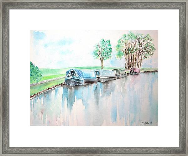 Canal Journey Framed Print