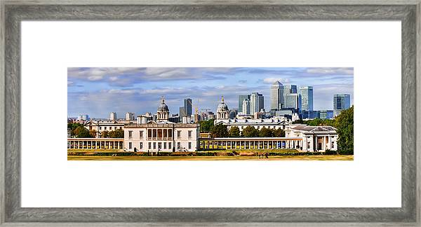 Canary Wharf Framed Print