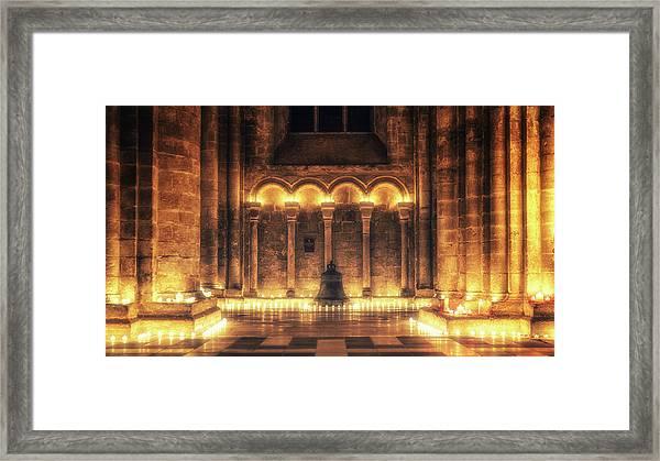 Candlemas - Bell Framed Print