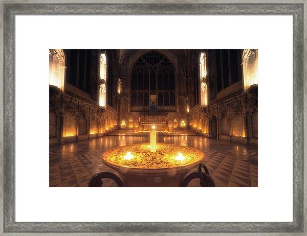 Candlemas - Lady Chapel Framed Print