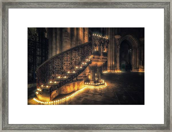 Candlemas - Pulpit Framed Print